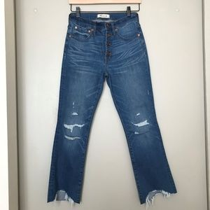 Gorgeous Madewell Cali Demi-Boot Jeans - Size 26